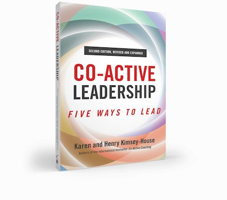 Co-Active Leadership: Five Way To Lead Book