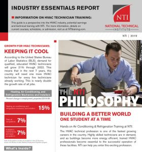 Job prospects in the HVAC industry report cover page