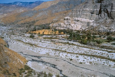 Above Whitewater Canyon