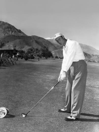 Fred Haas Jr., winner of the 1954 tournament.