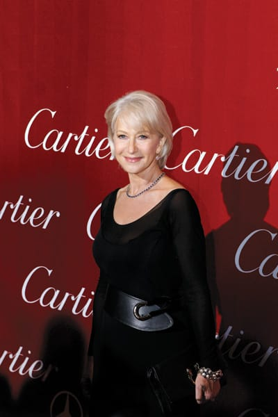 Helen Mirren received the 2010 Career Achievement Award (Actress).