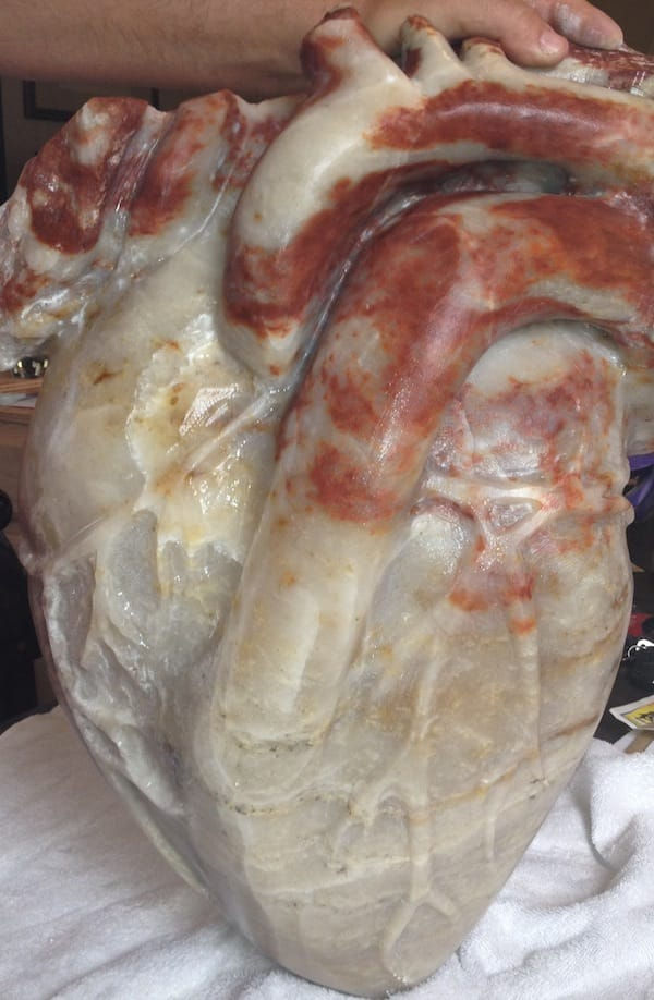 Merrill Orr Carves Art Career Out of Stone