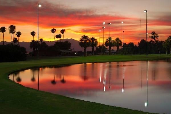Indio Municipal Golf Course Lights Up the Sky