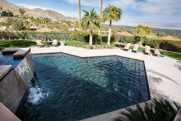 The pool at the main house.
