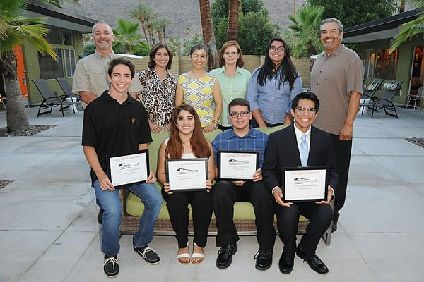 Palm Springs Unified School District Scholars are Celebrated at Scholarship Reception - June 2, 2015