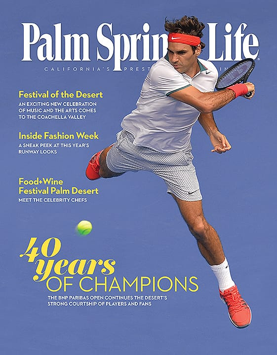 Palm Springs Life magazine - March 2015