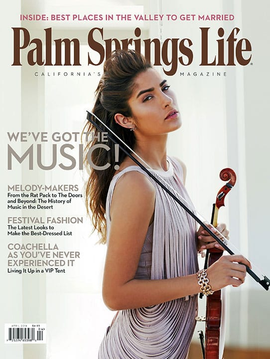 Palm Springs Life magazine - April 2014