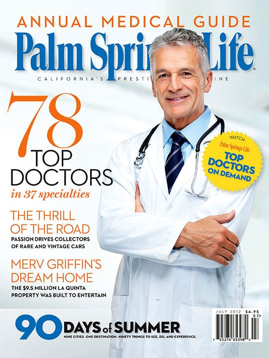 Palm Springs Life magazine - July 2012