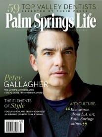 Palm Springs Life magazine - December 2011
