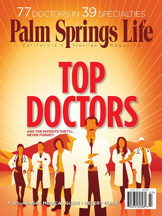 Palm Springs Life magazine - July 2011