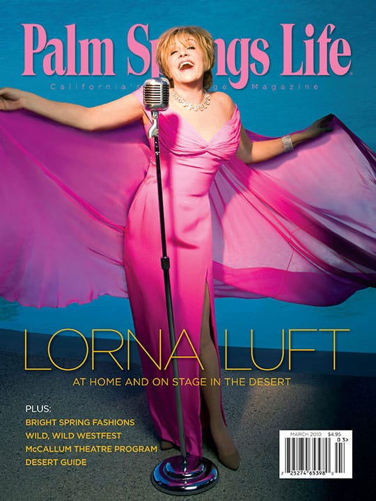 Palm Springs Life magazine - March 2010