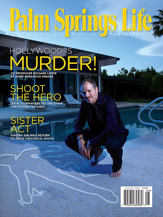 Palm Springs Life magazine - August 2009