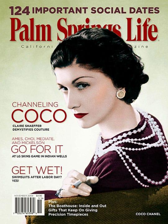 Palm Springs Life magazine - November 2008