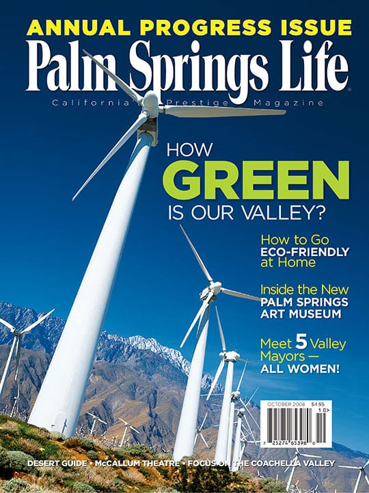 Palm Springs Life magazine - October 2008