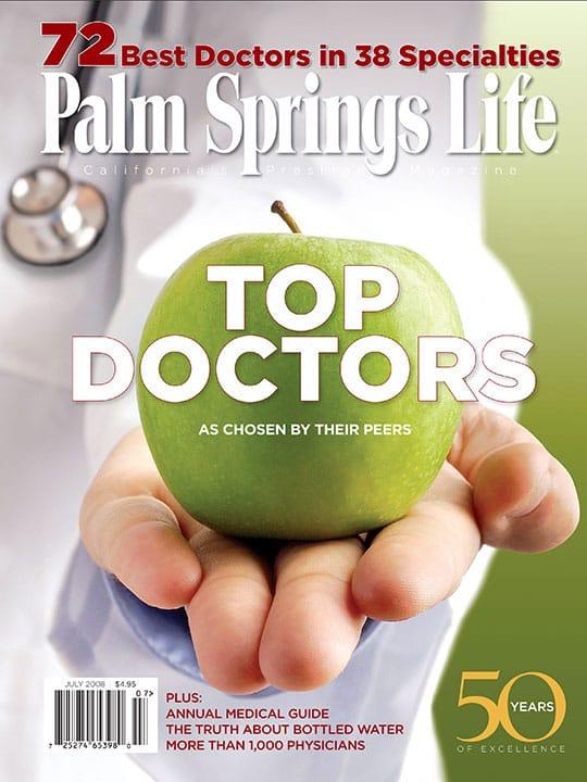 Palm Springs Life magazine - July 2008