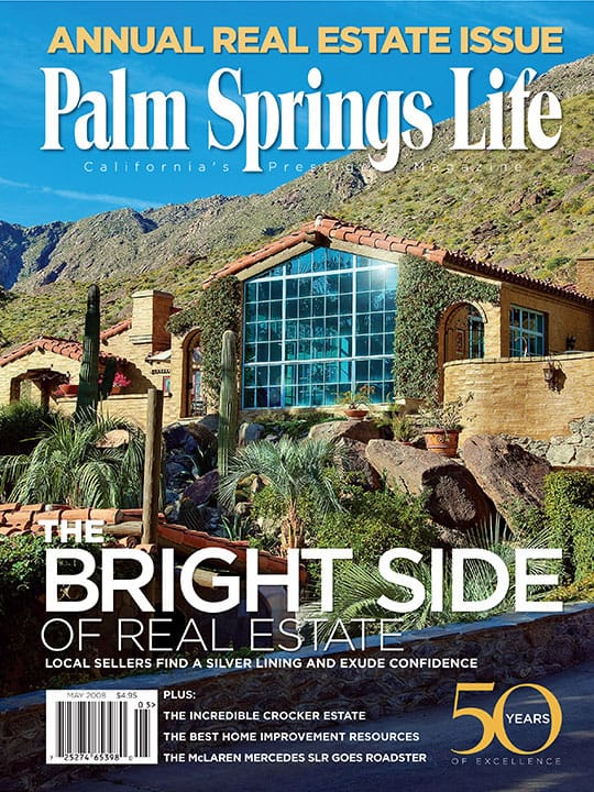 Palm Springs Life magazine - May 2008