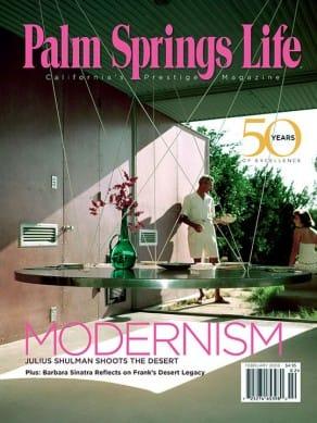 Palm Springs Life magazine - February 2008