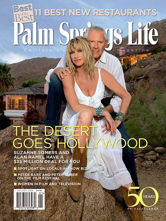 Palm Springs Life magazine - January 2008