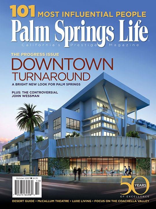 Palm Springs Life magazine - October 2007