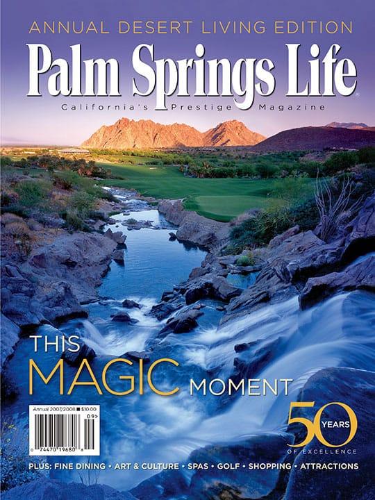 Palm Springs Life magazine - September 2007