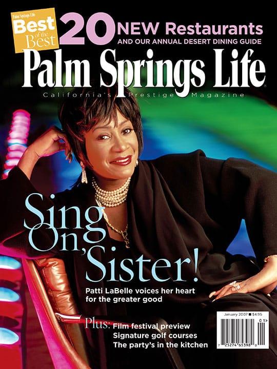 Palm Springs Life magazine - January 2007