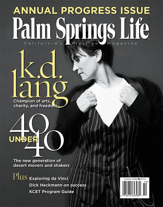 Palm Springs Life magazine - October 2006