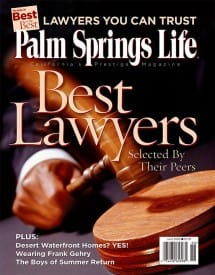 Palm Springs Life magazine - June 2006