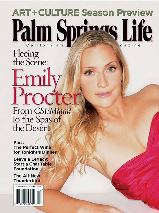 Palm Springs Life Magazine - December 2005