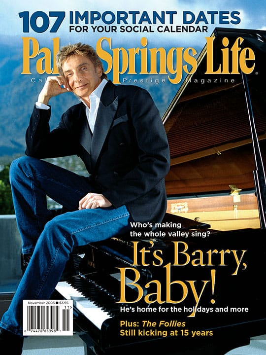 Palm Springs Life magazine - November 2005