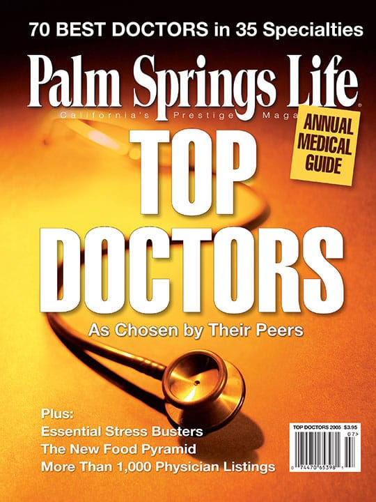 Palm Springs Life magazine - July 2005