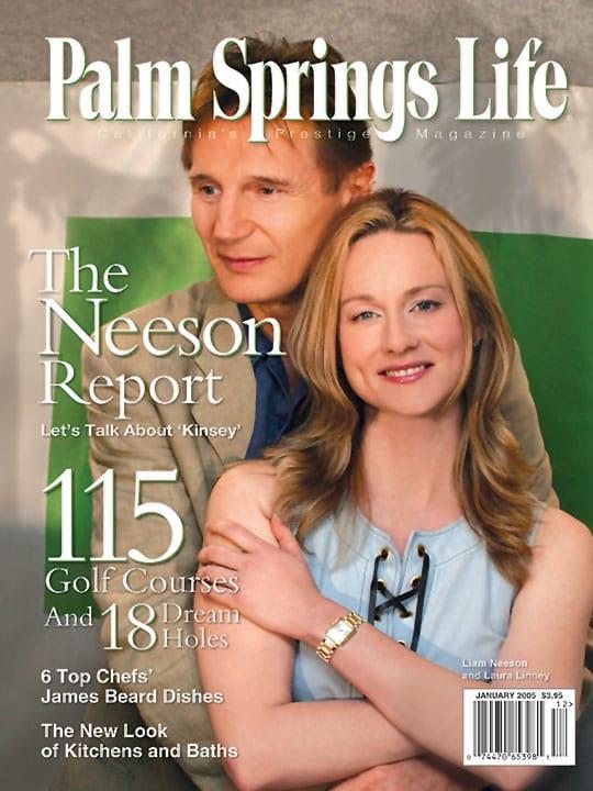 Palm Springs Life magazine - January 2005
