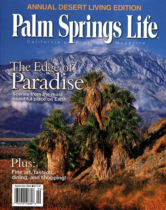 Palm Springs Life magazine - September 2004