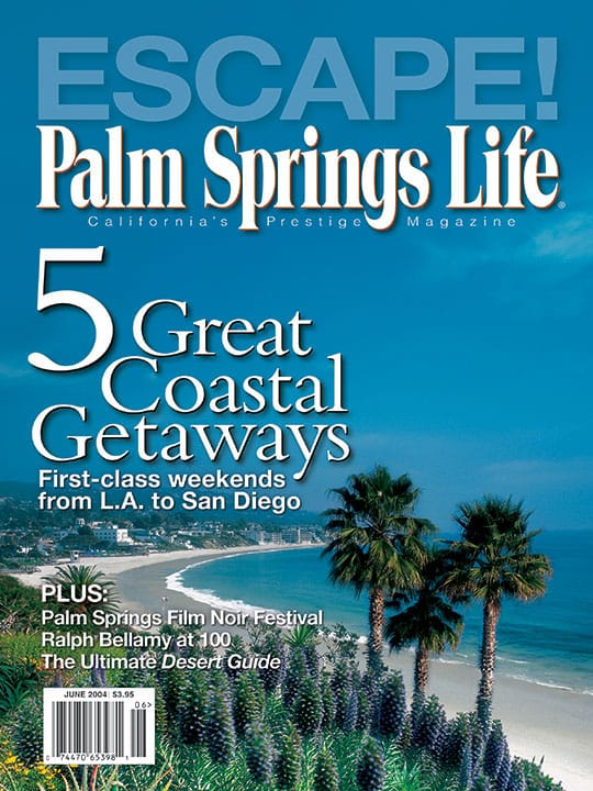 Palm Springs Life magazine - June 2004