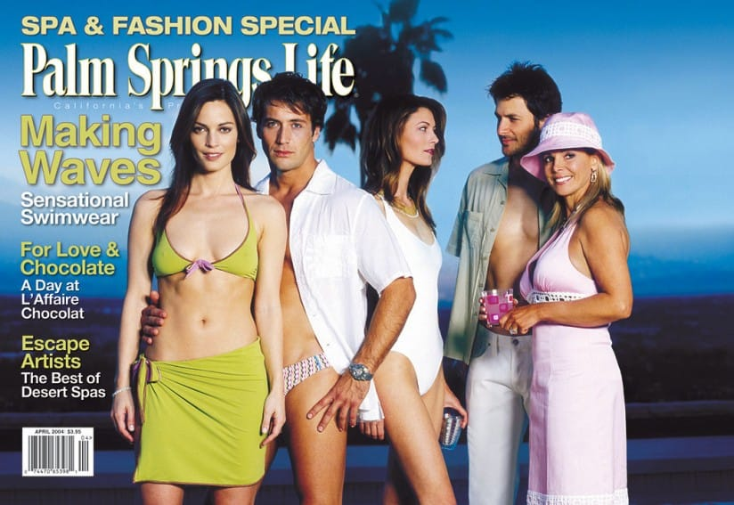 Palm Springs Life magazine - April 2004