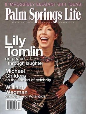 Palm Springs Life magazine - December 2003