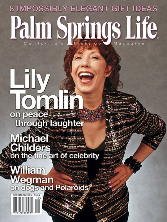 Palm Springs Life magazine - December 2003