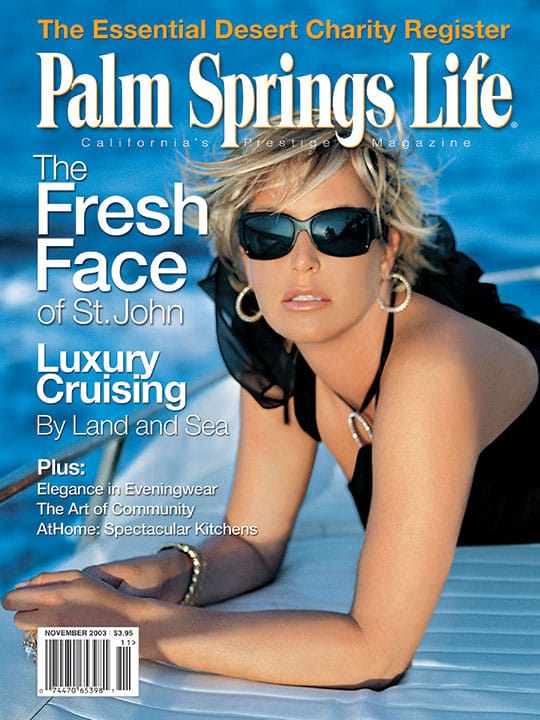 Palm Springs Life magazine - November 2003