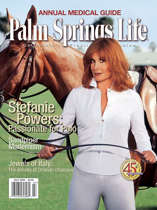 Palm Springs Life magazine - July 2003