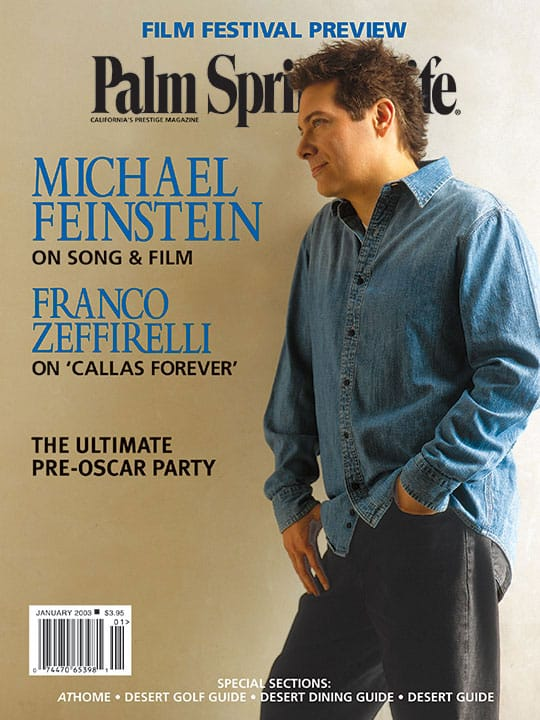 Palm Springs Life magazine - January 2003
