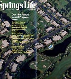 Palm Springs Life magazine - October 1982