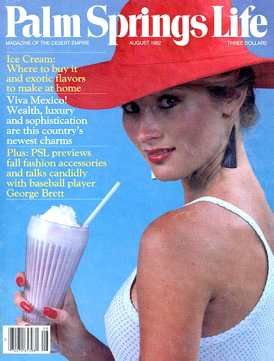 Palm Springs Life magazine - August 1982