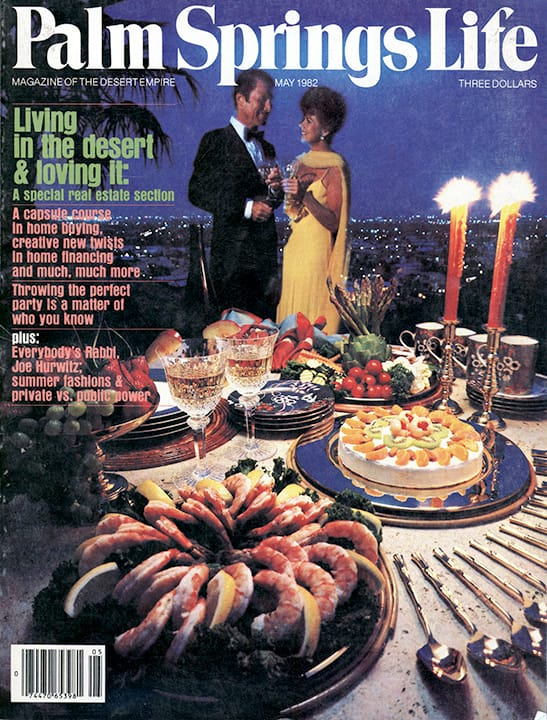 Palm Springs Life magazine - May 1982