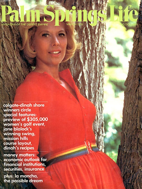 Palm Springs Life magazine - March 1978