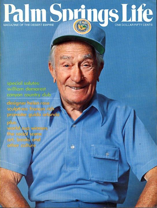 Palm Springs Life magazine - January 1977