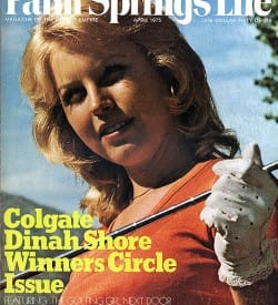 Palm Springs Life magazine - April 1975