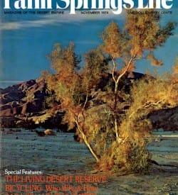 Palm Springs Life magazine - November 1974