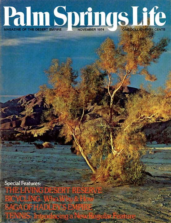 Palm Springs Life magazine - November 1974