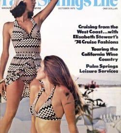 Palm Springs Life magazine - October 1973