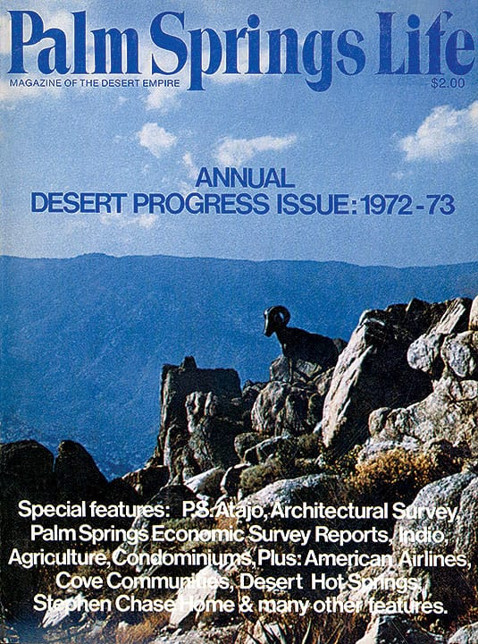 Palm Springs Life magazine - September 1972