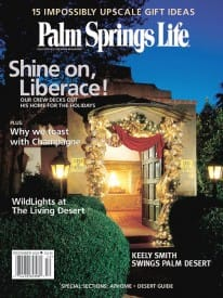 Palm Springs Life magazine - December 2002